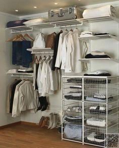19. #plusieurs niveaux #Design - 19 organisé #systèmes placards pour #obtenir votre #espace sous contrôle... → DIY