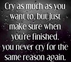 Moving On Quotes | MovingOnQuotess.blogspot.com too bad that when I cry I cry for the sense thing over and over