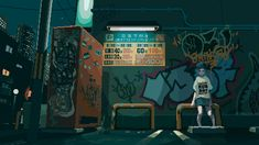 Pixel artist, designer, DJ and track maker Motocross Saito creates memorable GIF animations in a retro style, channeling and culture and music, with a focus on hip hop. Motocross, Aesthetic Gif, Aesthetic Pictures, Favelas Brazil, Animation Pixel, Steam Artwork, Arte 8 Bits, Wallpapers Tumblr, Anime Gifs