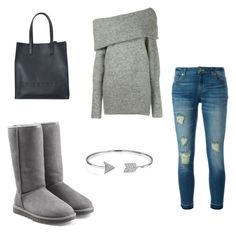 """""""Autumn Look"""" by hanakalesic ❤ liked on Polyvore featuring Acne Studios, MICHAEL Michael Kors, UGG Australia, Bling Jewelry and Givenchy"""