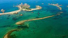 Archipelago near Plougrescant