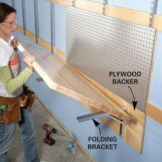 fold down workbench plans - Google Search