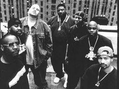 Big L, AG, Lord Finesse, Diamond D, Showbiz, Fat Joe O.C, and Buckwild aka DITC