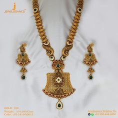 Gold 916 Premium Design Get in touch with us on Gold Wedding Jewelry, Gold Jewelry Simple, Bridal Jewelry, Gold Mangalsutra Designs, Gold Jewellery Design, Diamond Mangalsutra, Necklace Designs, Gold Fashion, Fashion Necklace