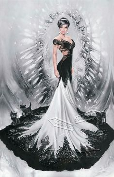 Selena Kyle in the wedding dress - Batman #50
