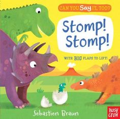 Cover image for Stomp! Stomp! : with big flaps to lift!