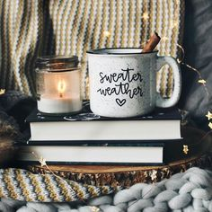 Items similar to Sweater Weather White Campfire Mug on Etsy Sweater Weather Hand Lettered White Camp Autumn Aesthetic, Christmas Aesthetic, Book Aesthetic, Cozy Christmas, Christmas Things, Xmas, Autumn Cozy, Happy Fall Y'all, Cute Mugs