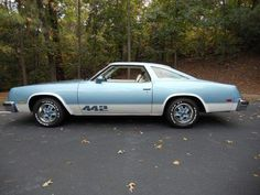 1976 OLDSMOBILE 442 We had a 442 stick shift,a 74..sadly I had trouble learning how to drive it...had to sell it ...sure would like to have it now!