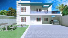 Modern House Exterior Design 3D Model | 3D model