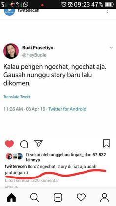 Quotes Lucu, Jokes Quotes, Cute Quotes, Book Quotes, Qoutes, Memes, Reminder Quotes, Quotes Indonesia, Tumblr Quotes