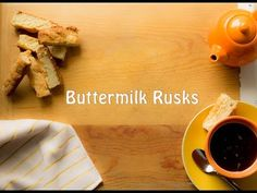 An easy rusk recipe made with South African flair. Delicious, perfect with coffee and devine on its own. Here is a rusk recipe you can try at home. Buttermilk Rusks, Homemade Buttermilk, Rusk Recipe, A Food, Food And Drink, South African Recipes, Food Staples, Food To Make, Easy Meals