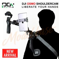 PGY Shoulder Mount Holder Shooting Extendable arm Camera Accessories Hands Shoulder camera support For DJI Osmo Accessories