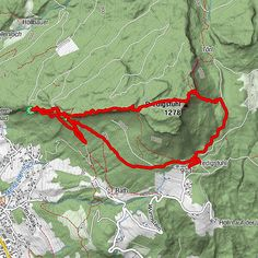 Predigtstuhl 1.278m - BERGFEX - Wanderung - Tour Oberösterreich Map, Austria, Outdoor, Vacation Travel, Tours, Travel Advice, Hiking, Chef Recipes, Outdoors
