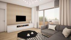 Modern scandinavian design of 2-rooms apartment in Bratislava by #avedesign / Moderný škandinávsky dizajn 2-izboveho bytu v širšom centre Bratislavy od @avedesign.sk www.avedesign.sk #interierovydesign #navrhinterieru #3drender #vizualizacia #interier #interior #interior_delux #interiordesign #interior4inspo #livingroom #livingroomdesign #obyvacka#interiorforinspo #interiorlovers #modernhome #interiordetails #interiorstylist #housegoals #housebeautiful #interiorinspo #homedesign #myhomevibe Bratislava, Goa, Scandinavian Design, Centre, Rooms, Curtains, Interior Design, Stylish, Table