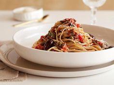Pasta Puttanesca Recipe : Ellie Krieger : Food Network