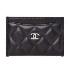 d557a3067bc9ee 29 Best Chanel Card Case images | Card case, Chanel card holder, Wallet