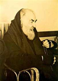 """Father Marcellino testified that he had to help Padre Pio wash his hands one at a time """"because he didn't want to leave the rosary beads, and passed the Rosary from one hand to the other."""""""