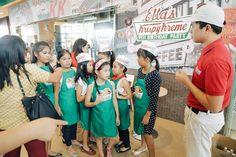 Ella's Krispy Kreme Party – Party Favors / Personalized Apron