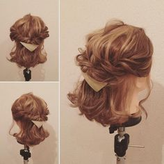 Media?size=l Kawaii Hairstyles, Braided Hairstyles, Wedding Hairstyles, Cool Hairstyles, Japanese Hair Salon, Best Hair Salon, Hair Arrange, Japanese Hairstyle, How To Make Hair