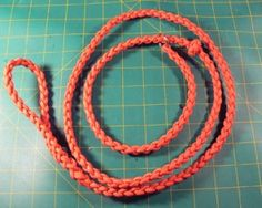 How To Make A Slip Lead With Paracord