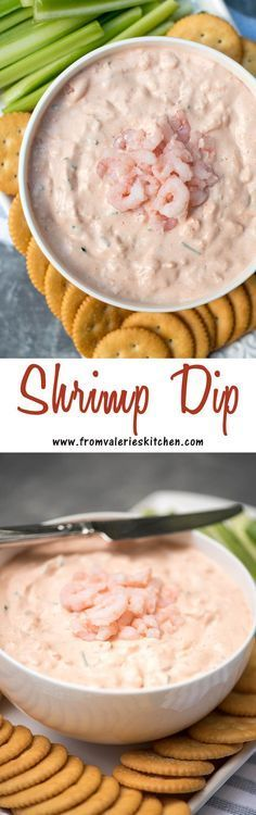 A quick and easy retro party classic. This Shrimp Dip is the perfect addition to your appetizer menu for your next gathering!