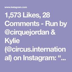 """1,573 Likes, 28 Comments - Run by @cirquejordan & Kylie (@circus.international) on Instagram: """"Who'd like to try this sequence on aerial hoop? ✨Beautiful moves from 🇺🇸Chicago🇺🇸 aerialist…"""""""