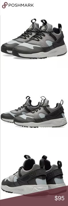 Men's Nike Air Huarache Utility Running Shoes New With Box! Get your new school style with some old school inspiration when you wear the Men's Nike Air Huarache Utility Running Shoes. The Nike Air Huarache Utility steps you into the legendary Huarache look, now elevated for cold weather. Nike Shoes Athletic Shoes
