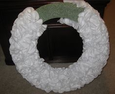 Julie + Michael: DIY Christmas Wreath
