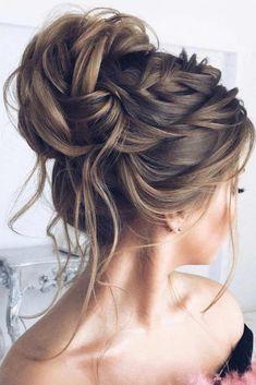 Top 20 Elstiles High Updo Hochzeitsfrisuren - Hair There - High Bun Hairstyles, Cool Hairstyles, Natural Hairstyles, Gorgeous Hairstyles, Medium Hair Styles, Curly Hair Styles, Medium Hair Wedding Styles, Romantic Updo, Wedding Hairstyles For Long Hair
