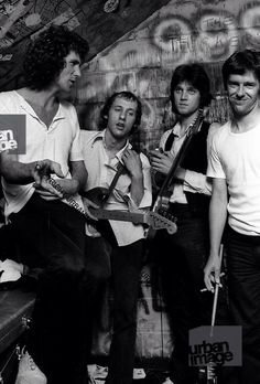 John Illsley, Mark Knopfler, David Knopfler, Pick Withers