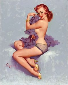 I would love to get a pin-up...this is good one but it doesn't SCREAM to me like I'd want it to if I were going to get it permanently put on me...