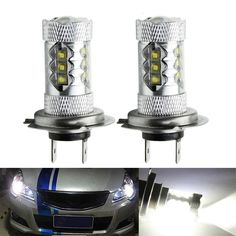 8.62$  Buy here - http://ali3ar.shopchina.info/go.php?t=32764336268 - 2/4/8x Cree Car LED Bulbs H7 White Headlight Fog Brake Xenon Lamps Replace Replacement Lampada 8.62$ #buymethat