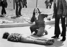 Today is an ugly anniversary in American history: 42 years ago, National Guardsman opened fire on anti-Vietnam protesters at Ohio's Kent State University, killing four students. Ten days later, Mississippi police fired on civil rights protesters taking refuge in a women's dormitory at Jackson State University and killed two more students.