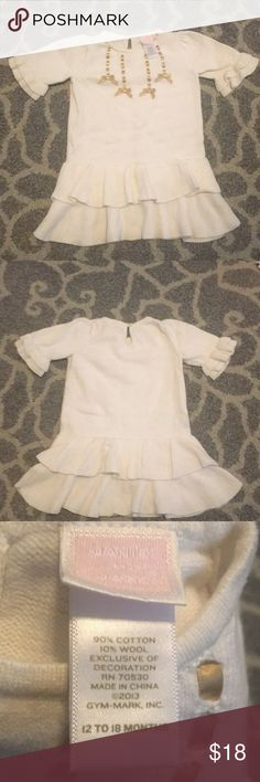 Janie and jack Toddler cream dress Perfect for any occasion!!! Janie and Jack Dresses Casual