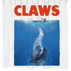 Sharp Shirter CLAWS Shower Curtain * Check this awesome product by going to the link at the image.