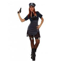 Disfraz de Policia para Mujer