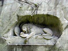 Lion Monument  Lucerne, Switzerland