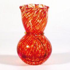 Miluse Roubickova, blown glass vase-object, H: cm, glassworks Škrdlovice, pattern No: Czechoslovakia Blown Glass, Czech Glass, Glass Vase, Bohemian, Pattern, Beauty, Home Decor, Beleza, Homemade Home Decor