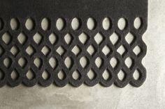 Christian Fischbacher carpet ADORNO detail