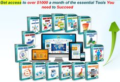 Get access to over $1000 a month of the essential Tools You need to Succeed