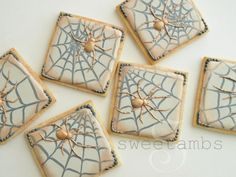 Halloween Spider Cookie Tutorial
