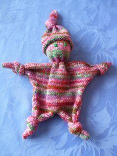 tricoter un doudou facile Plus