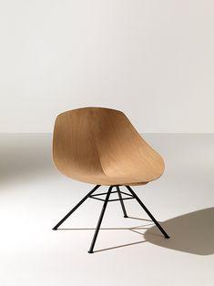 """lounge chair"" diseñada por Werner Aisslinger, para la empresa italiana, Lema."