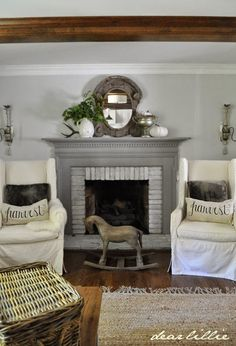 I know to a lot of people it will seem pretty crazy and pointless so I won't bor… – farmhouse fireplace tile Wood Fireplace Surrounds, Tv Over Fireplace, Fireplace Tile Surround, White Fireplace, Fireplace Mantle, Fireplace Design, Fireplace Ideas, Painted Mantle, Houston Houses