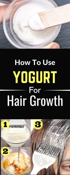 HOW TO USE YOGURT FOR HAIR GROWTH – Gonnee Lifestyle Give your hair a deep-conditioning treatment with this luxurious coconut yogurt hair mask. A decadent way to enrich your DIY hair care routine, this easy recipe requires just three ingredients. Yogurt For Hair, Coconut Milk For Hair, Yogurt Hair Mask, Hair Growth Treatment, Hair Mask For Growth, Natural Hair Growth, Home Remedies For Dandruff, Hair, Vinegar