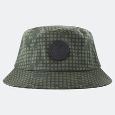 Qilo Bucket Hat Desert Night Circle Logos, Diamond Quilt, Black Satin, Bucket Hat, Deserts, Patches, Night, Hats, Leather