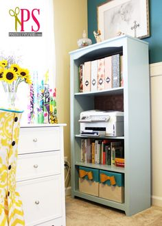 Sewing Room/Home Office Reveal   Positively Splendid {Crafts, Sewing, Recipes and Home Decor}
