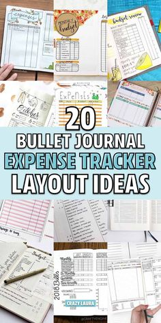 Looking to get your finances out of your head and in to your journal? These awesome bullet journal budget tracker ideas will help you get started! Bullet Journal Spending Tracker, Bullet Journal Expenses, Bullet Journal Font, Monthly Budget Planner, Planner Ideas, Budget Binder, Financial Planner, Budget Tracking, Bullet Journal Inspiration