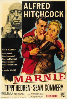 Marnie | Italian 2-Foglio Movie Poster, 1964