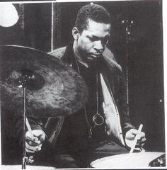 John Coltrane on the drums
